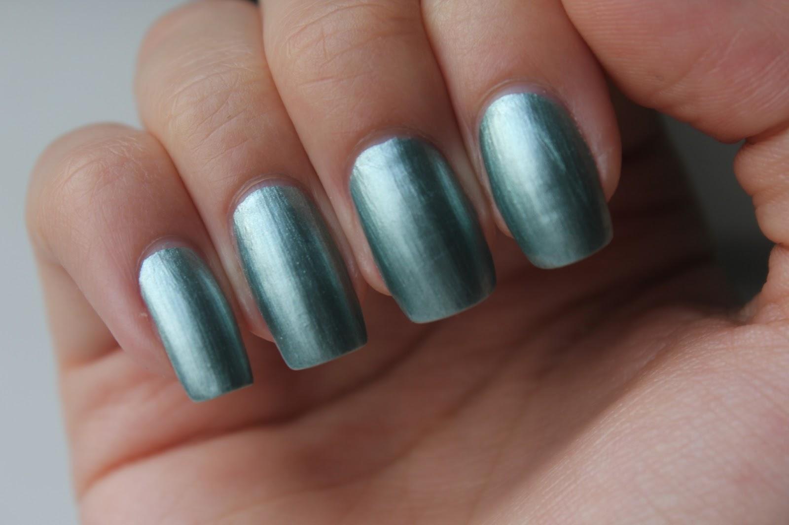 Фото зеркальный лаков для ногтей