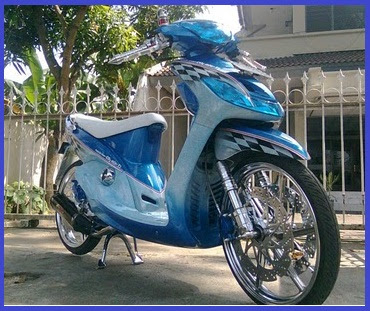 Modifikasi Yamaha Mio Sporty_Racing Elegant - Kumpulan Gambar Modifikasi Motor.jpg