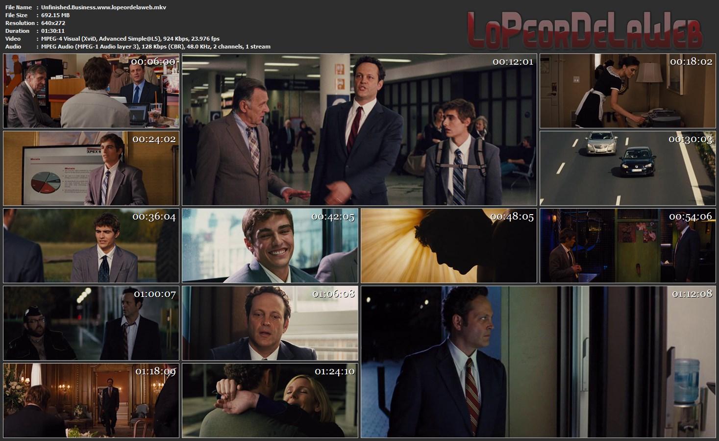 Negocios fuera de control (2015) DVDRrip Latino