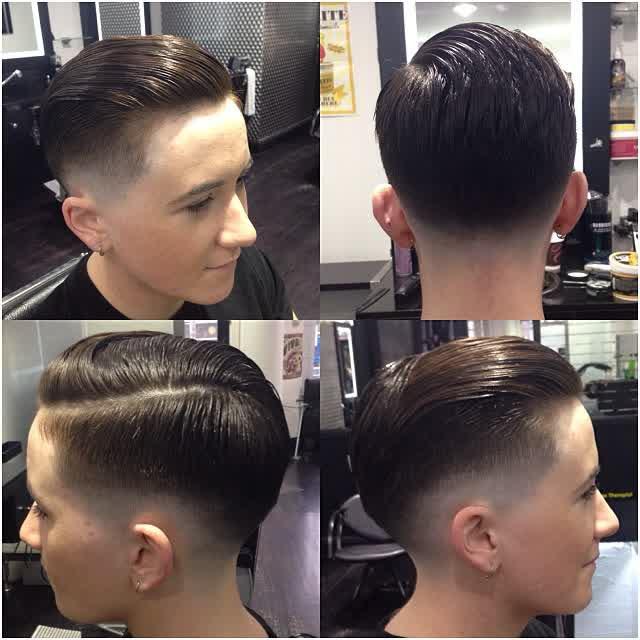 Model Rambut Pria Klimis Keren dengan Pomade e077cad0a9
