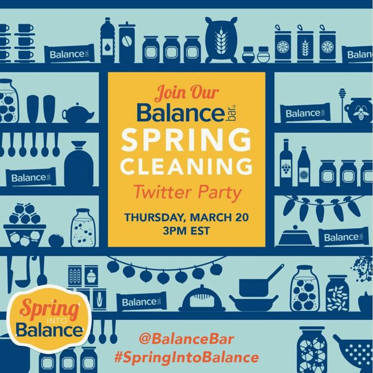 Balance Bar spring cleaning