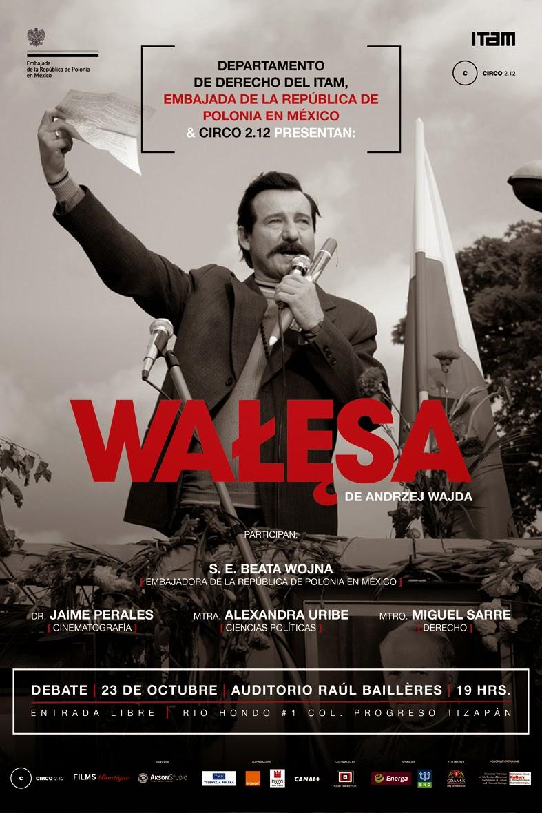 """Proyección y debate de la película polaca """"Walesa"""" de Andrzej Wajda"""