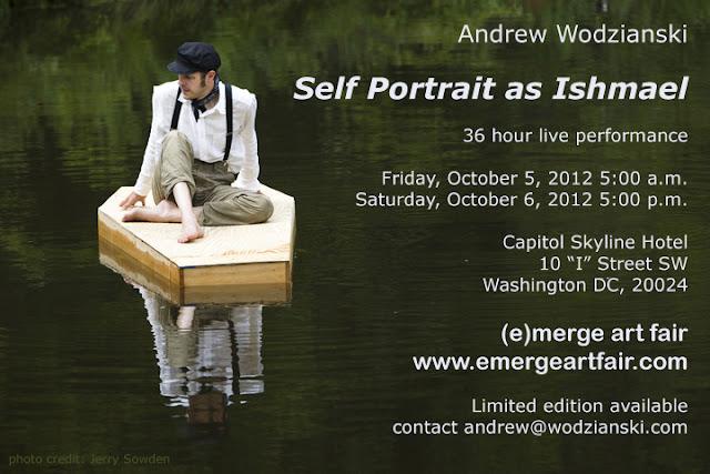 Andrew Wodzianski at (e)merge art fair