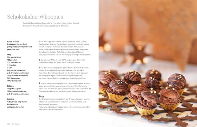 Schokoladen-Whoopies aus dem UrGuetzli Buch aus dem Fona Verlag