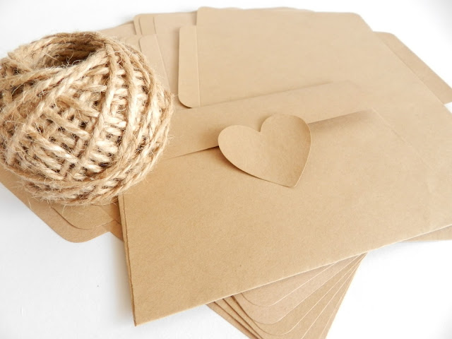kraft envelopes C6