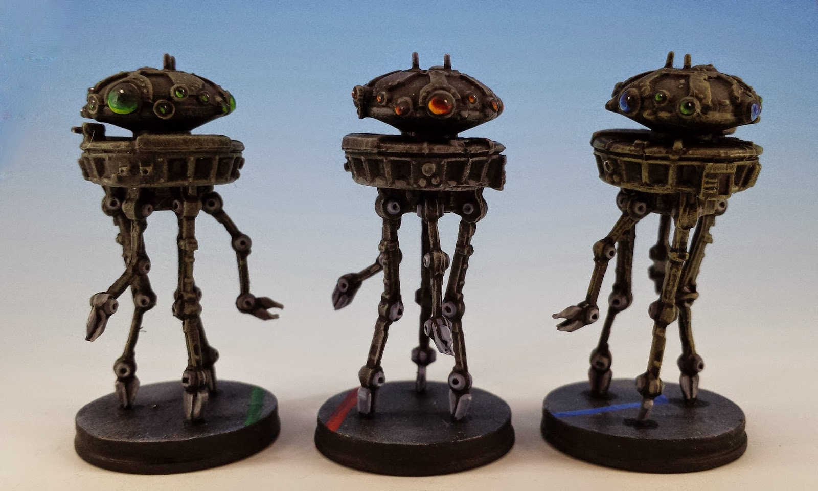 Probe Droid, Fantasy Flight Games (2014, sculpted by Benjamin Maillet, painted by M. Sullivan)
