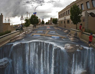 gambar gambar keren 4 Gambar Gambar Keren 3D Street Painting