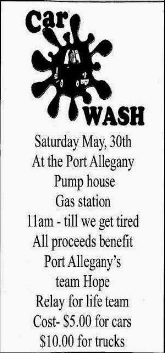 5-30 Car Wash For Port's Team Hope