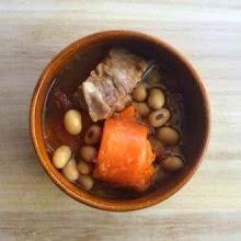 にんじんと豚バラのスープ