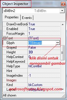 gambar cara menambahkan gambar pada bitbutton