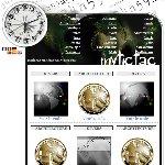 フランス発時計ブログパーツ