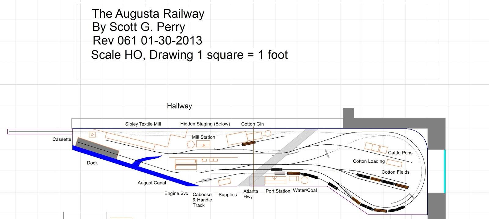 Navajo Mining Railway Track Plan