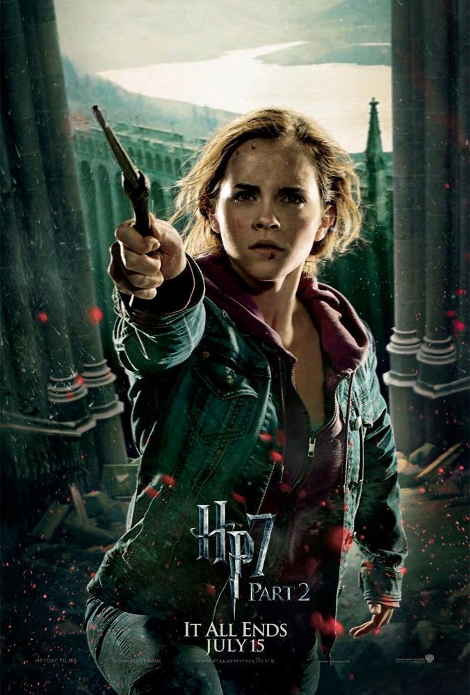 harry potter and the deathly hallows poster hermione. I want to be Hermione.