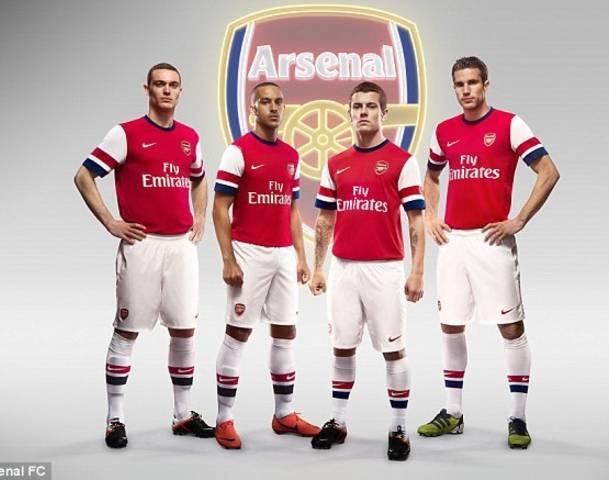 jersey arsenal musim 2013