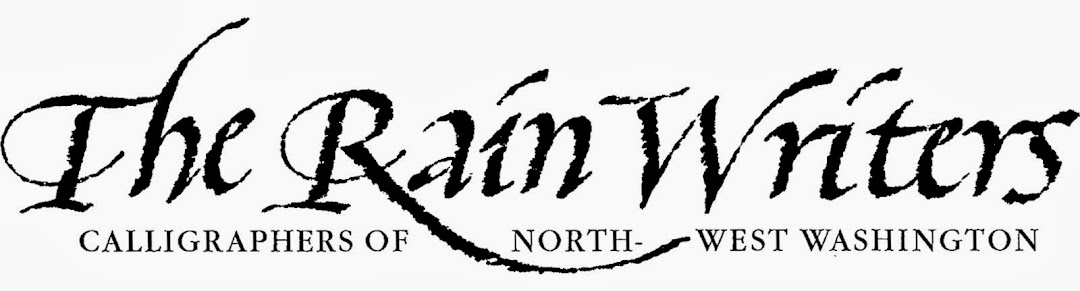 The Rain Writers - Calligraphers of Northwest Washington