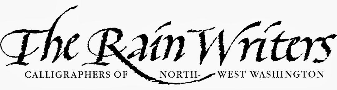The Rain Writers - Calligraphers of Northwest Washington
