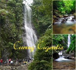 Curug Cigentis, air terjun di Karawang yang menawan Tempat Wisata di
