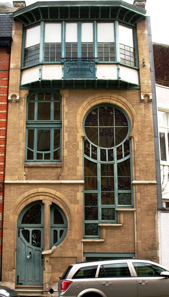Art nouveau architecture - Modern art nouveau architecture ...