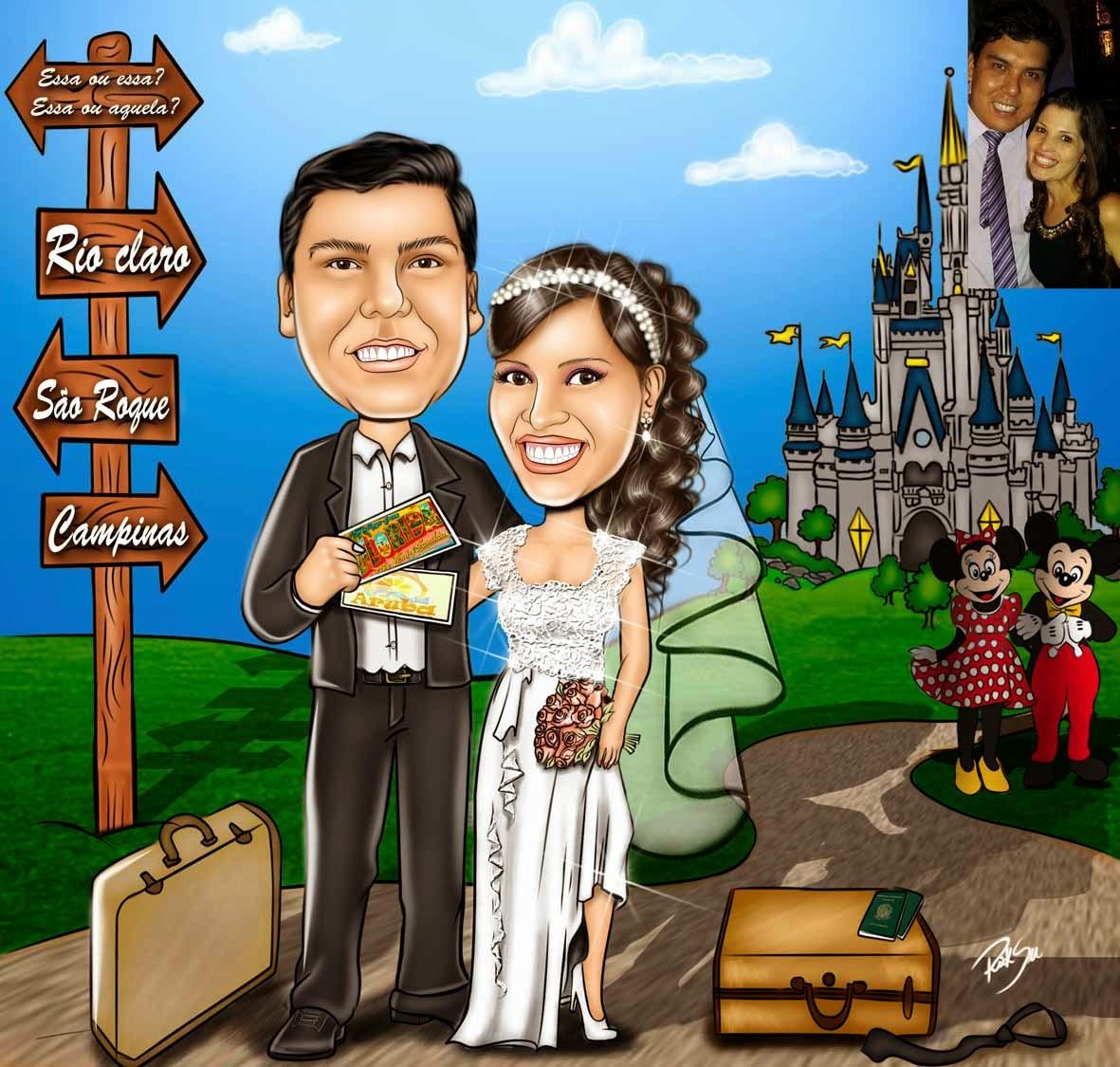 #viagem , #luademel , #passaporte , #desenhodenoivos