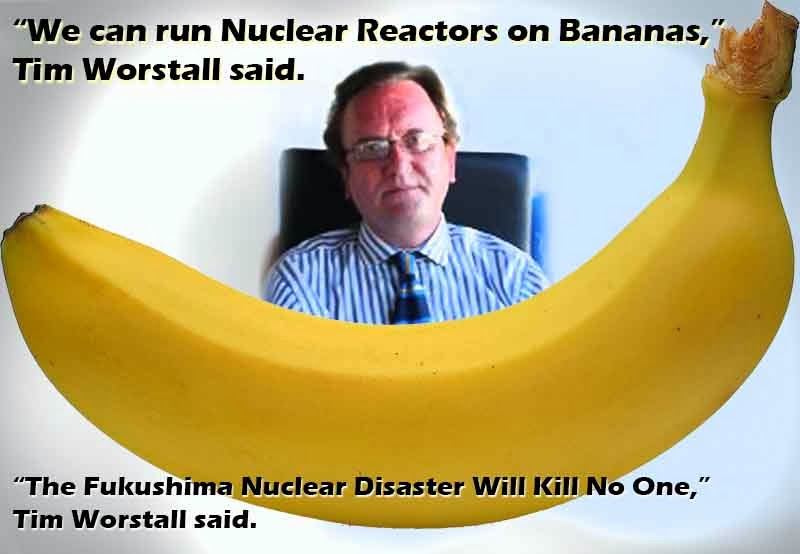 We can run nuclear reactors on bananas