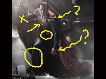 In Depth Analysis Of Man Of Steels Goofy Superman Costume Photos