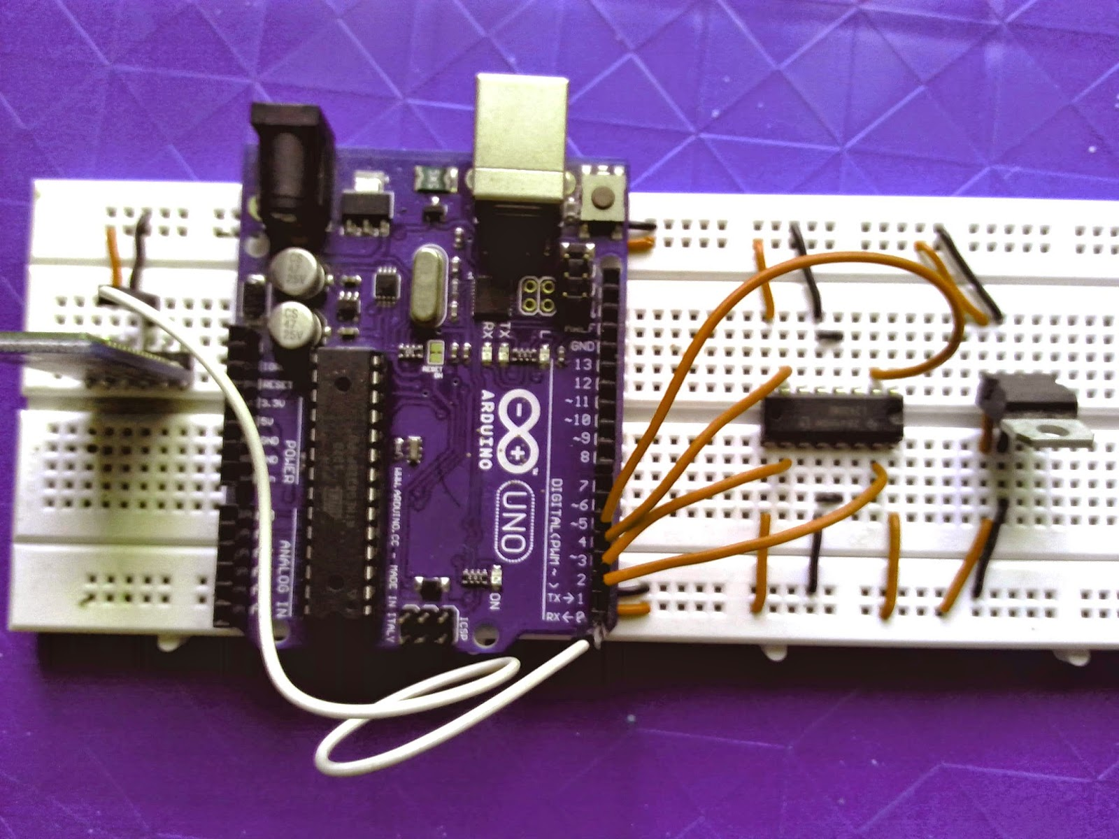 Voice Controlled Project Using Interfacing Of Arduino With Bluetooth Dc 12v To 5v Converter Circuit Uno Breadboard Robot