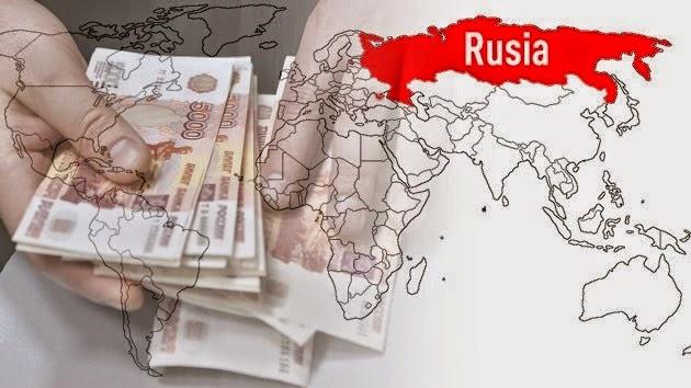 Guerra entre EEUU y Rusia se libra en rublos contra dólares