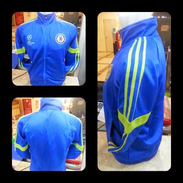 gambar jersey dan jaket chelsea UCL terbaru musim 2015
