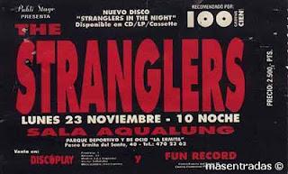 entrada de concierto de the stranglers