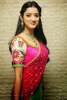 South Indian Actor Richa Panai Half Saree Stunning Stills