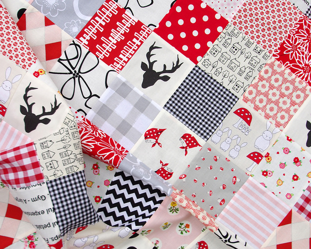 Oh Deer! Two Baby Quilts   Red Pepper Quilts 2015