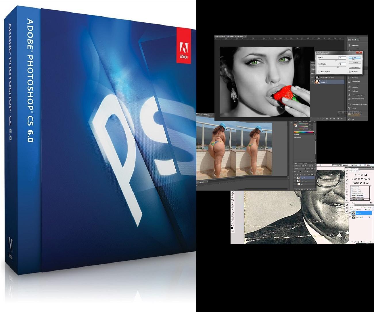 Видео уроки adobe photoshop cs6 x32