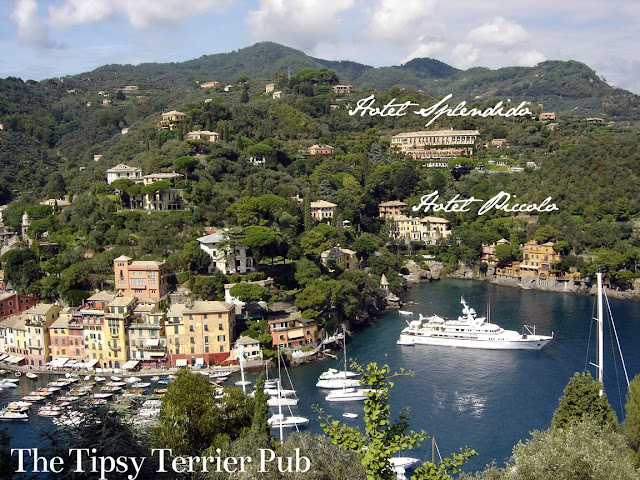 Yacht in Portofino, Italy - tipsyterrier.blogspot.com