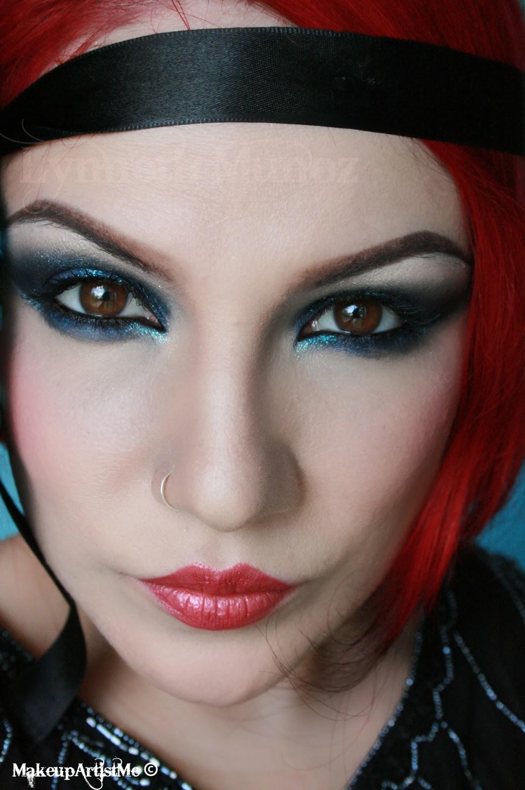 Make Up Artist Me 1920s Dramatic Makeup Look