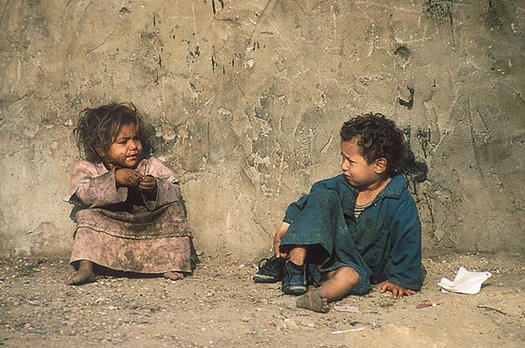 poverty children Conditions faced by children worsened in 40 countries last year, new save the  children study says.