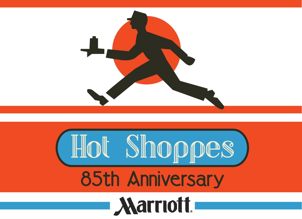 HILLMARK Design: MARRIOTT: Hot Shoppes cup/t-shirt logo