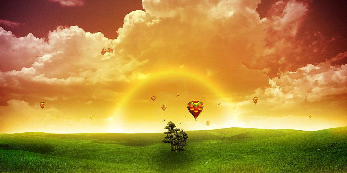 Yellow Clouds l 300+ Muhteşem HD Twitter Kapak Fotoğrafları