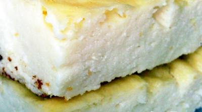 Pastel de crema de Tofu