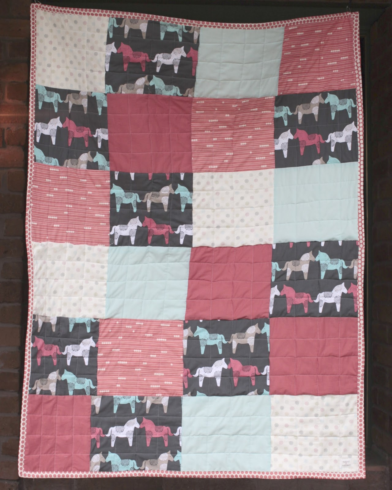 Oh. THAT Annelie...: DIY Project: 1 Day Baby Quilt : diy baby quilts - Adamdwight.com