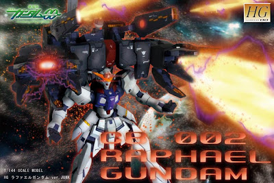 HG 1/144 Raphael Gundam
