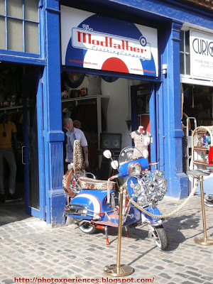The Modfather Clothing Shop in Stables Market (Camden Town). La tienda Modfather en Stables Market (Camden Town)