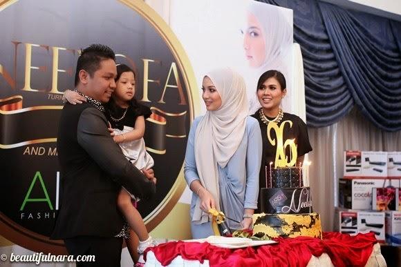 Fesyen Anggun Neelofa di majlis harijadinya, INFO, TERKINI, HIBURAN, SENSASI, NEELOFA