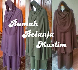 Model Gamis Muslimah Syar'i