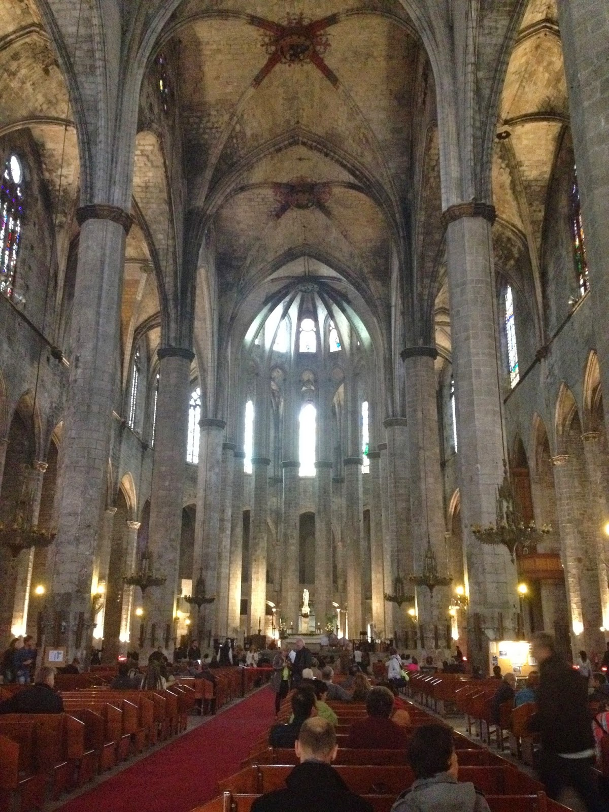 church tours barcelona april