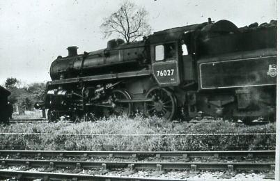 76027 at Fort Brockhurst on Lee shunt