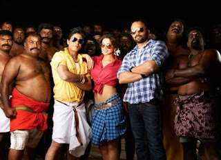 Shahrukh Khan and Chennai Express team