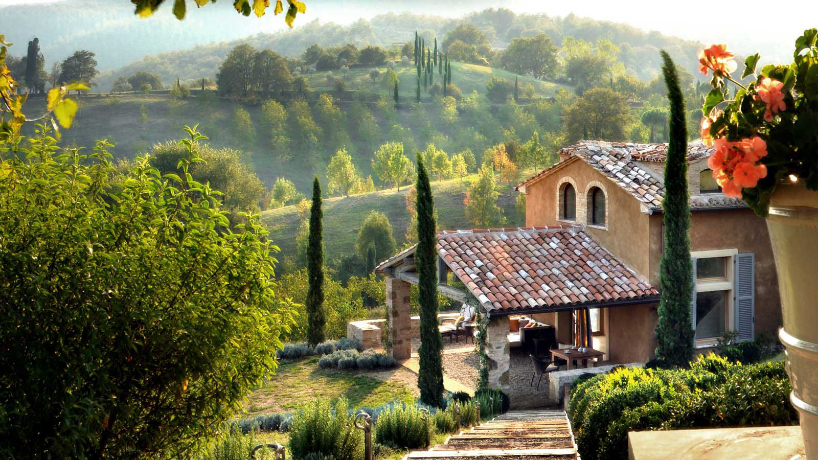 Luxury Villas In Umbria With Private Pool
