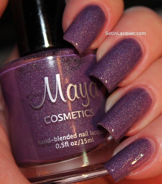 Custom polish from Maya Cosmetics
