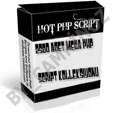 php script1 - 2500 ADET PHP SCR�P AR��V� | EN �Y�LER | S�per Kolleksiyon | ENG |indir