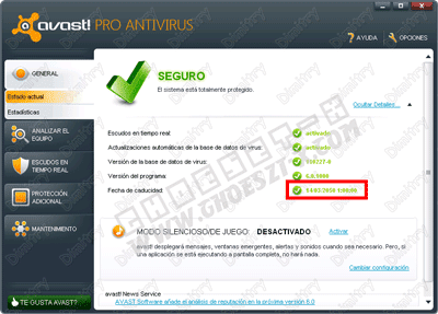 Avast Antivirus 6.0.1367 Pro With Crack Until 2050